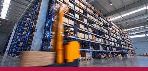 Conveyco Warehouse Organization